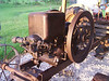 "John Deere Model E 6hp Hit and Miss Engine : 6 hp John Deere Model E Hit & Miss engine.  This engine was ""yard art"" at Pioneer City in Wimberly, Texas for several years before being rescued and returned to running condition.  It was disassembled and the rings replaced and that is about all.  It has very good compression and starts and runs very well.  Obtained in October of 2007."
